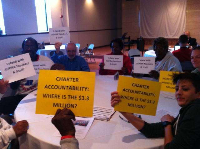 Community Members Speak up at ASPIRA Board meeting 9.17