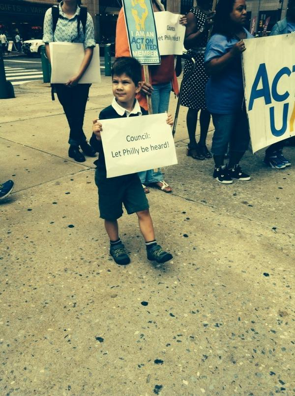 The youngest advocate for local control
