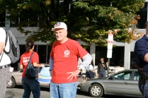 Veteran labor activist Jim Moran