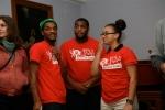 Moderators Ty Junius, Anissa Washington and Hezekiah Mack